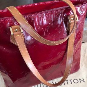 Louis Vuitton Pomme D'Amour Vernis Houston bag